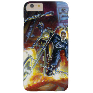 Ghost Rider Riding Through City Barely There iPhone 6 Plus Case