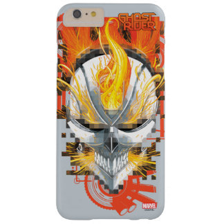 Ghost Rider Skull Badge Barely There iPhone 6 Plus Case