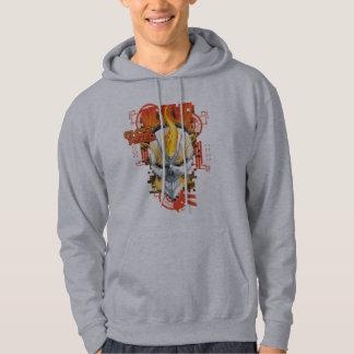 Ghost Rider Skull Badge Hoodie