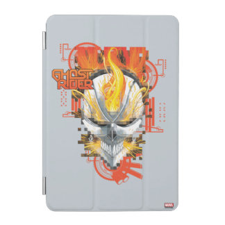 Ghost Rider Skull Badge iPad Mini Cover