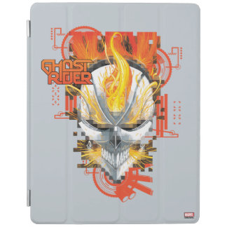 Ghost Rider Skull Badge iPad Smart Cover