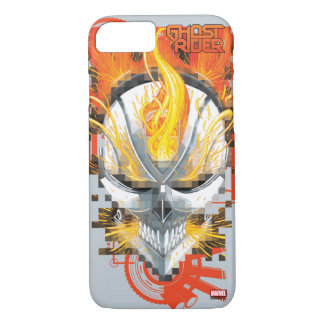Ghost Rider Skull Badge iPhone 7 Case
