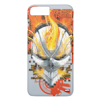 Ghost Rider Skull Badge iPhone 8 Plus/7 Plus Case