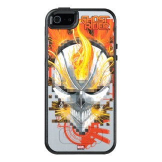 Ghost Rider Skull Badge OtterBox iPhone 5/5s/SE Case