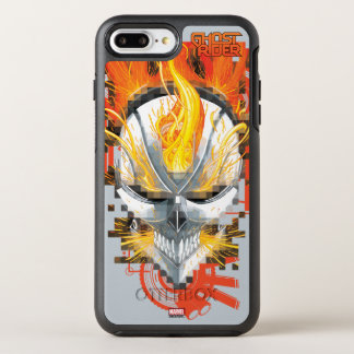 Ghost Rider Skull Badge OtterBox Symmetry iPhone 7 Plus Case