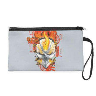 Ghost Rider Skull Badge Wristlet
