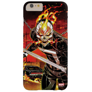 Ghost Rider With Knives Barely There iPhone 6 Plus Case
