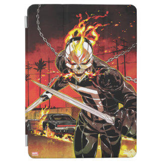 Ghost Rider With Knives iPad Air Cover