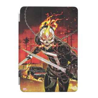 Ghost Rider With Knives iPad Mini Cover