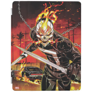 Ghost Rider With Knives iPad Smart Cover