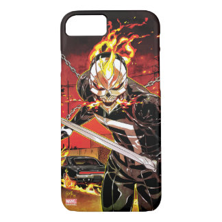 Ghost Rider With Knives iPhone 8/7 Case