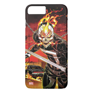 Ghost Rider With Knives iPhone 8 Plus/7 Plus Case