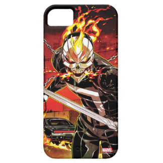 Ghost Rider With Knives iPhone SE/5/5s Case