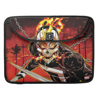 Ghost Rider With Knives MacBook Pro Sleeve