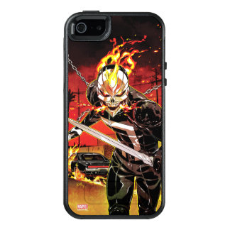 Ghost Rider With Knives OtterBox iPhone 5/5s/SE Case