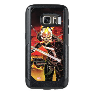 Ghost Rider With Knives OtterBox Samsung Galaxy S7 Case