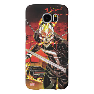 Ghost Rider With Knives Samsung Galaxy S6 Case