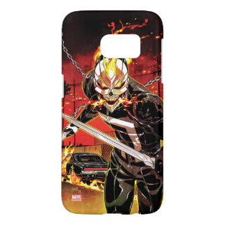 Ghost Rider With Knives Samsung Galaxy S7 Case