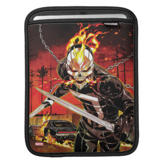Ghost Rider With Knives Sleeve For iPads