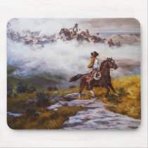 Ghost Riders in the Sky Mouse Pad