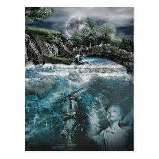 Ghost River Postcard