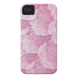Ghost Roses with Your Choice Background Color iPhone 4 Cover