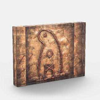 Ghost Rune Acrylic Award