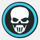 Ghost Runners Bat Knob Sticker