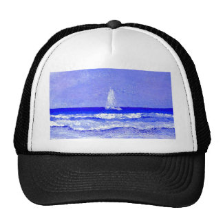 Ghost Sails CricketDiane Ocean Art Trucker Hat