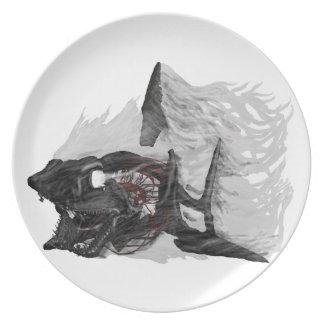 Ghost Shark Plate