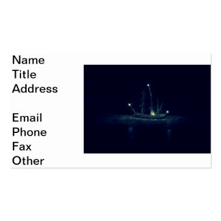 Ghost Ship Business Card