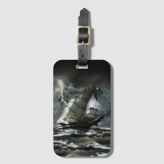 Ghost Ship Luggage Tag