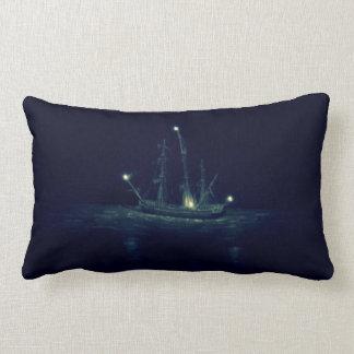 Ghost Ship Lumbar Pillow