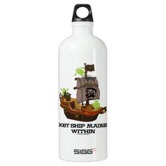 Ghost Ship Madness Within (Developer Bug Droid) SIGG Traveler 1.0L Water Bottle