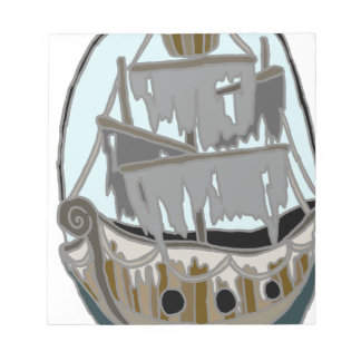 Ghost Ship Notepad