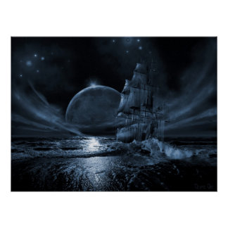 Ghost ship series: Full moon rising Poster