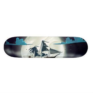 Ghost Ship Skateboard Deck