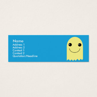 Ghost - Skinny Mini Business Card