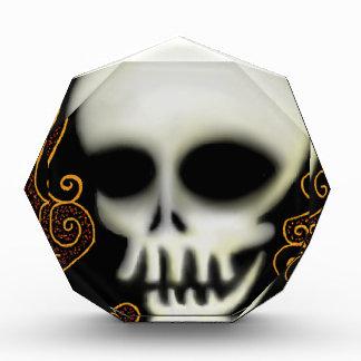 Ghost Skull Acrylic Award