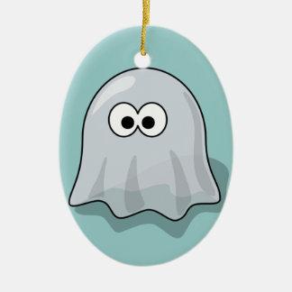 Ghost - Spooky Haunted Ceramic Ornament