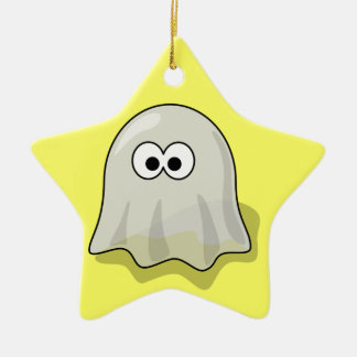 Ghost - Spooky Haunted Ceramic Ornament