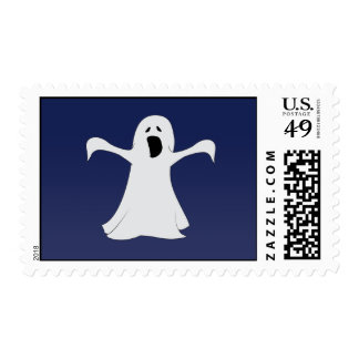 Ghost Stamp in Blue