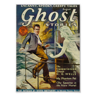 Ghost Stories Comic Poster August