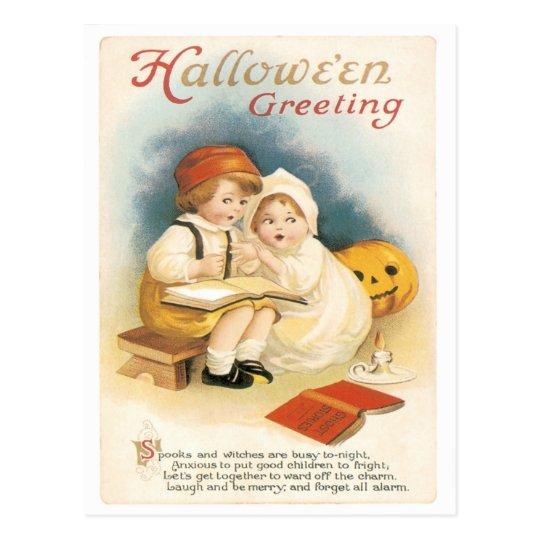 Ghost Stories Vintage Postcard