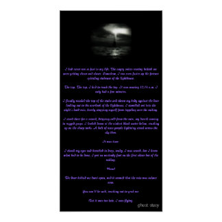 Ghost Story 12 x 24 Poster