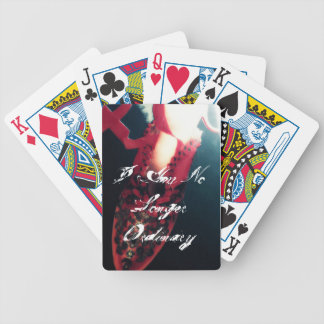 "Ghost Story ""I Am No Longer Ordinary"" Cards Poker Deck"