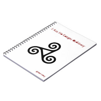 Ghost Story Triskele Notebook