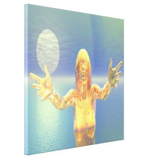 Ghost Sunrise Canvas Print