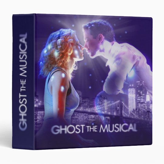 GHOST - The Musical Logo 3 Ring Binder