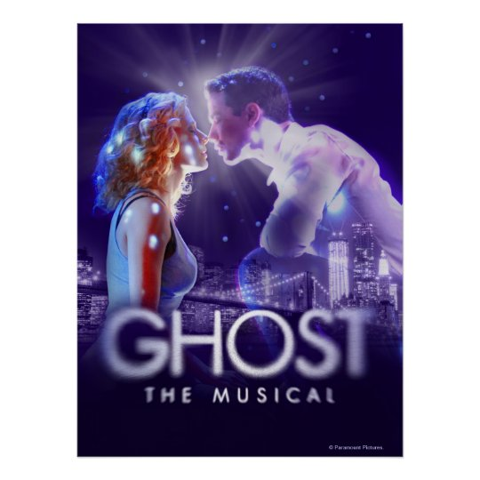 GHOST - The Musical Logo Poster